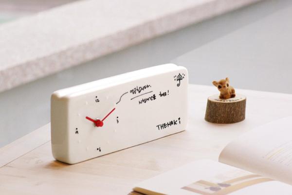 Memo Clock 陶瓷记事闹钟(三)