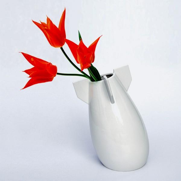 导弹样式的花瓶