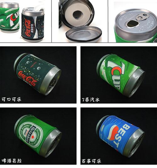 易拉罐造型纸巾筒
