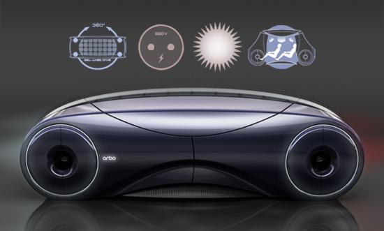 移动的胶囊电动汽车