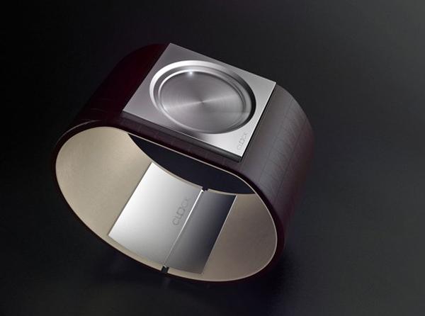 设计简洁的无表盘手表