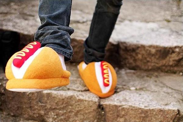 面包热狗样式的拖鞋(六)
