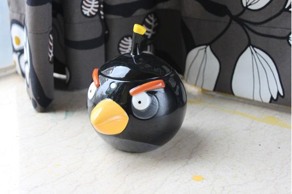 愤怒的小鸟陶瓷水杯之黑鸟