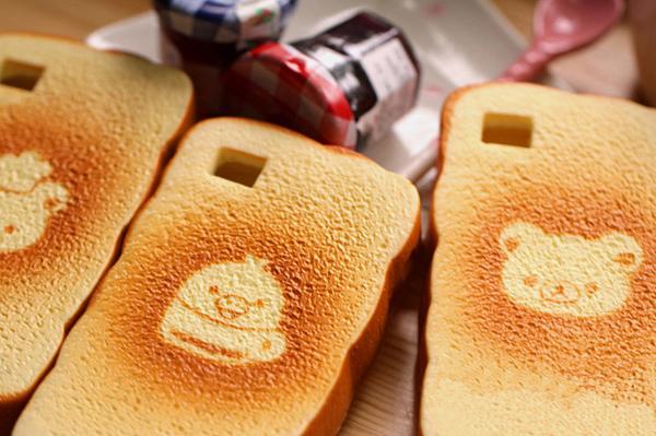 吐司面包手机套图案(二)