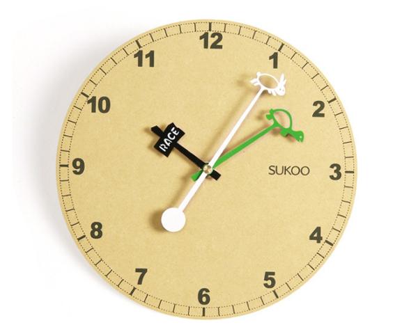 龟兔赛跑样式的时钟