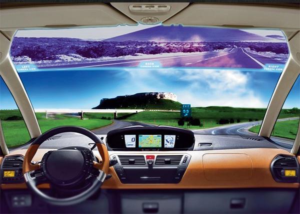 全息投影视窗的概念车