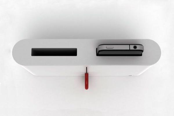 iPhone4/4s面包机造型上面