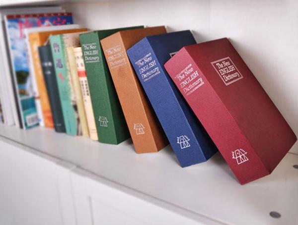 字典的造型保险箱