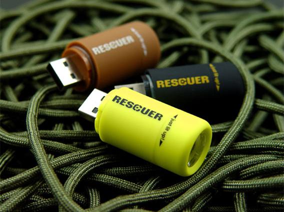 USB充电防水小电筒