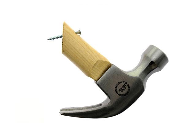 Coat Hock 木质铁锤挂钩