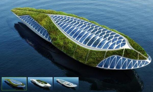水路两栖生态环保船