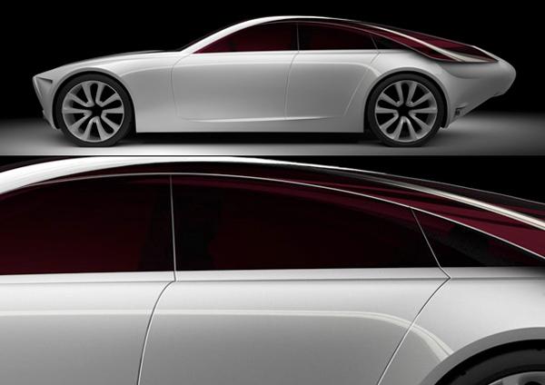 2017 Alfa Romeo 概念汽车侧面