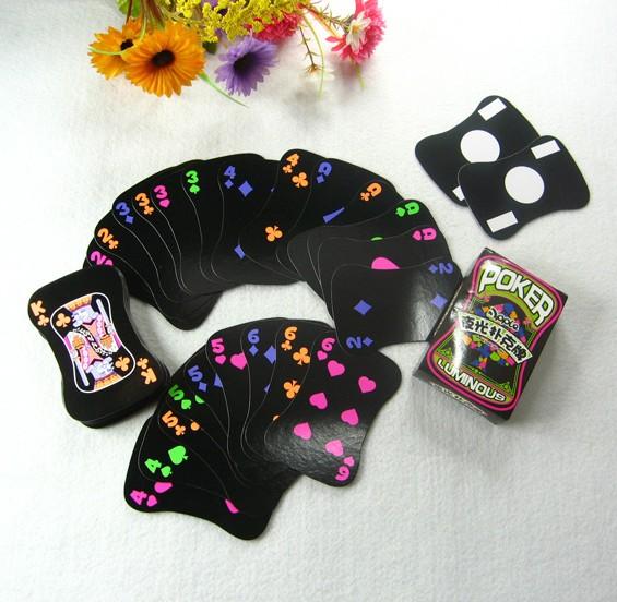 夜光扑克牌