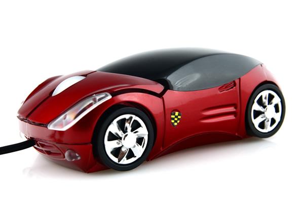 法拉利跑车样式的鼠标