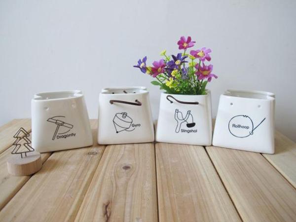 陶瓷纸带笔桶(三)