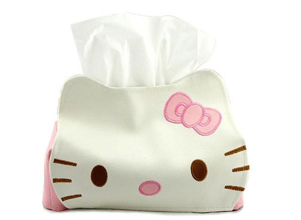 HelloKitty 创意纸巾筒