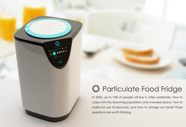 未来管理食物的仪器