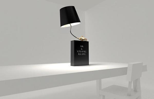 阿拉丁神灯样式的台灯