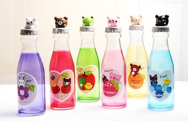创意汽水瓶储蓄罐的多种颜色