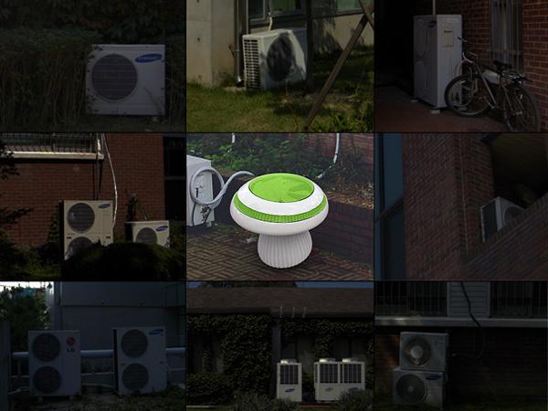 蘑菇形状的空调外挂机(二)