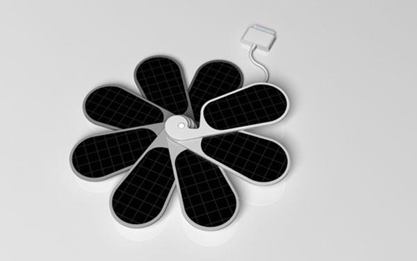 为iPhone量身的太阳能充电器