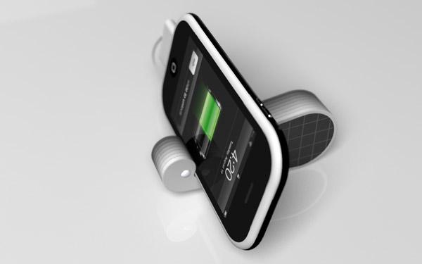 为iPhone量身的太阳能充电器(二)