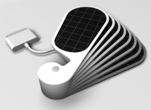 为iPhone量身的太阳能充电器(四)
