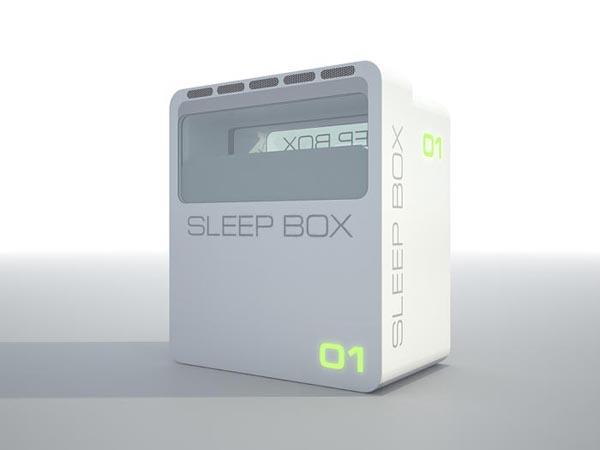 Sleep Box 惬意休息的睡眠舱