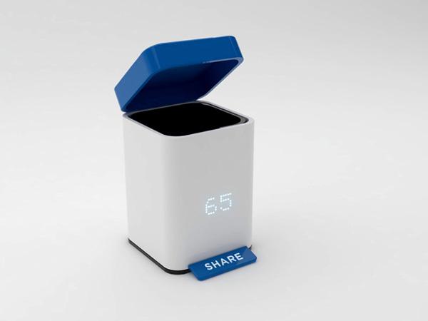 世界足球2011智能计数功能的垃圾桶-玩意儿