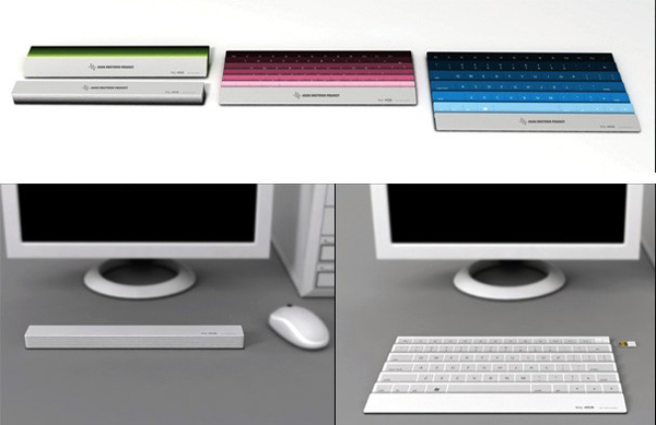 扇子样式的折叠键盘(四)