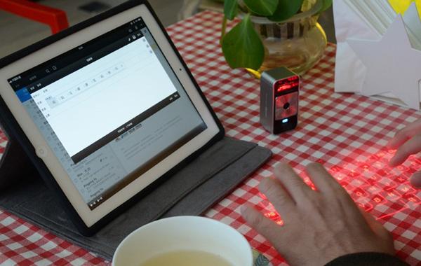 激光虚拟投影键盘应用