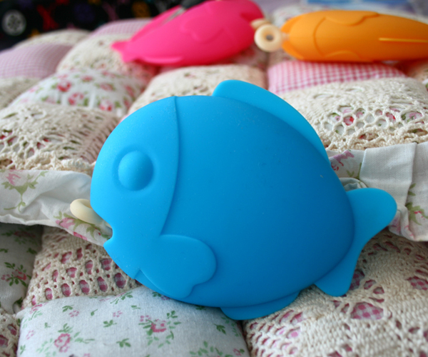 FISH Key Pouch 软硅胶钥匙包