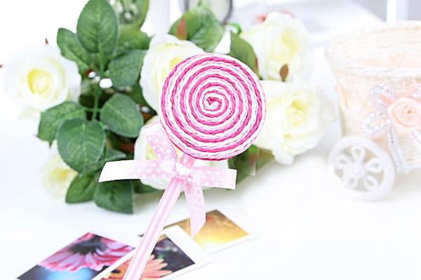 可爱糖果样式的圆珠笔