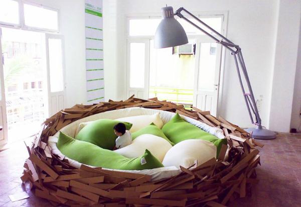 巨大鸟巢床(二)