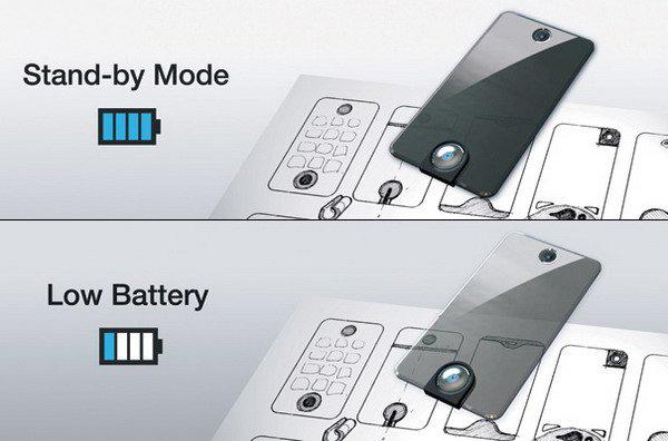 电量越低越透明的概念手机(三)
