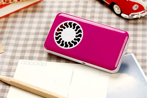 iFan 随身充电风扇粉红色