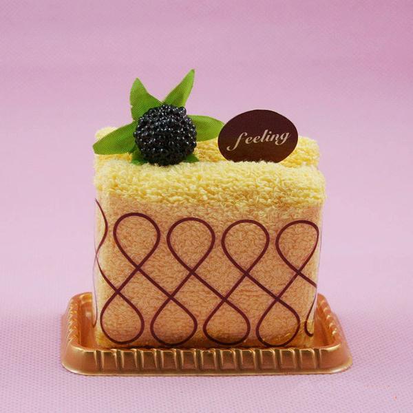 可口的蛋糕样式毛巾(二)