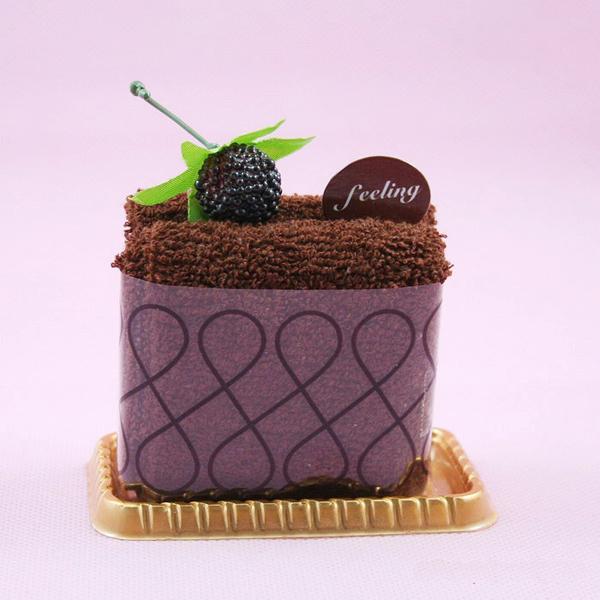 可口的蛋糕样式毛巾(三)
