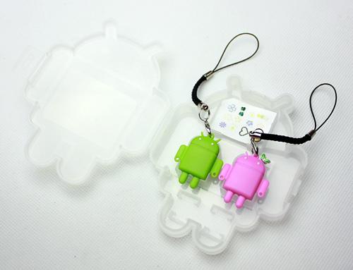 Android 情侣版手机挂饰