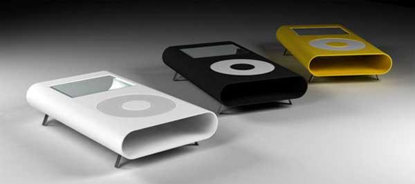 iPod 造型的茶几