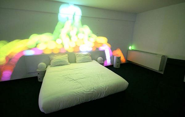 惊艳的卧室彩灯系统(二)
