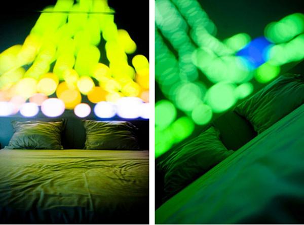 惊艳的卧室彩灯系统(四)