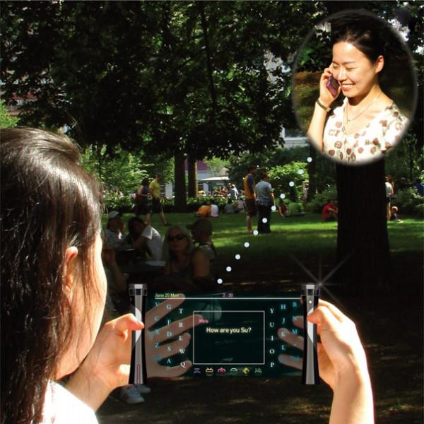 聋哑人语音通话设备场景应用