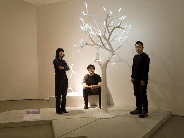 光神之树创意灯具效果