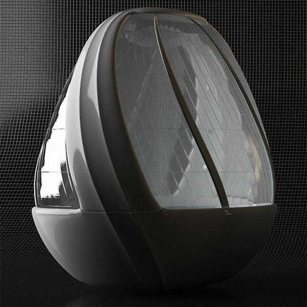 鸡蛋形状的沐浴系统4