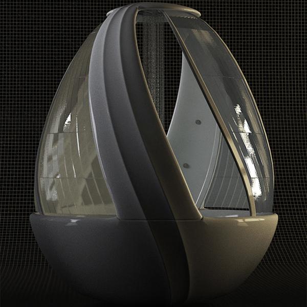 鸡蛋形状的沐浴系统5