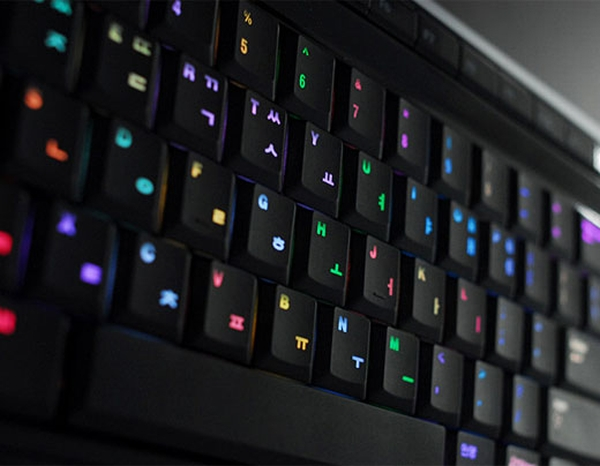 U5 LED发光键盘