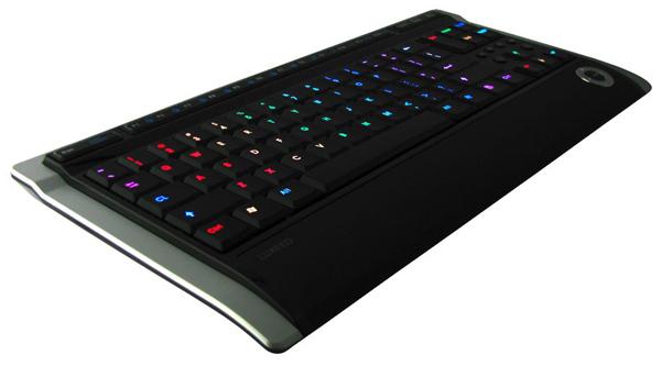 U5 LED发光键盘 全貌