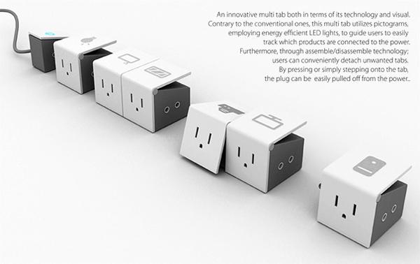 模块化设计的插座
