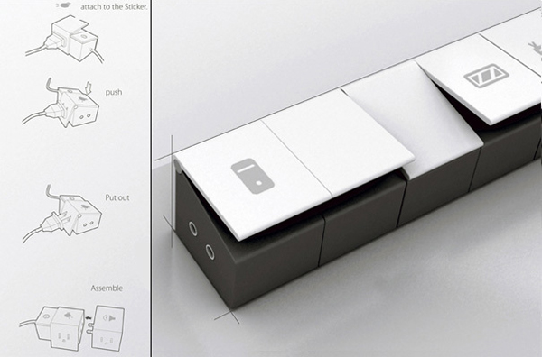 模块化设计的插座(三)